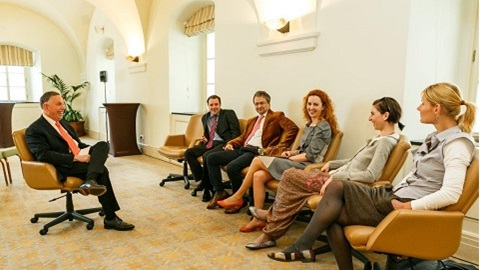 Michael Kaiser meets with Czech arts managers